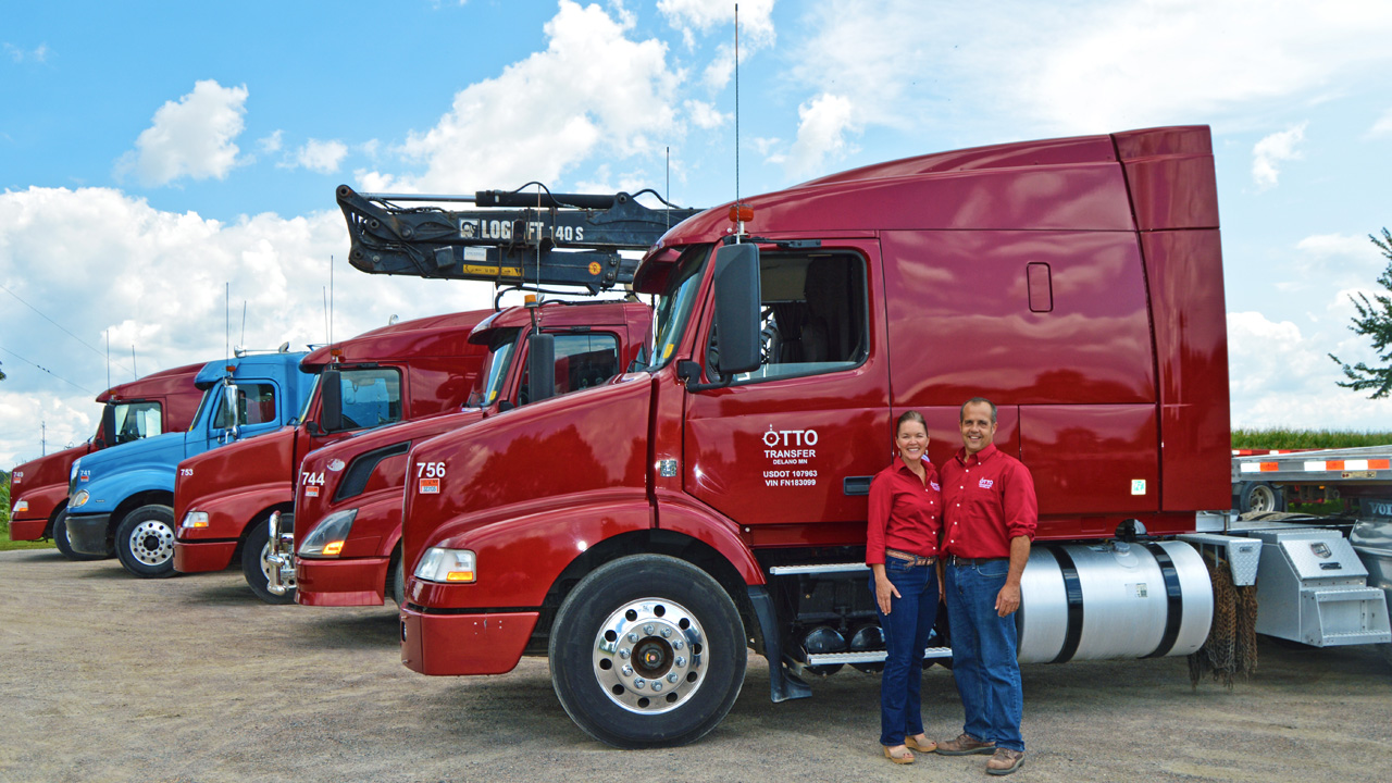 Flatbed Specialized Trucking Company MN   Home on Weekends